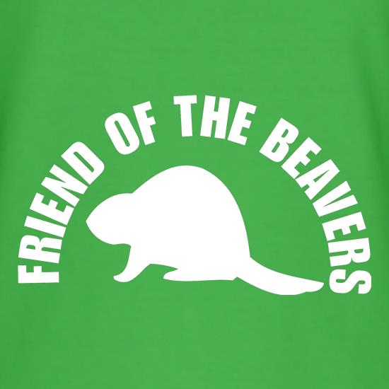 Friend of the Beavers t-shirts