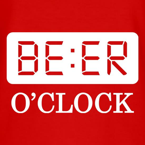 Beer O'Clock t-shirts