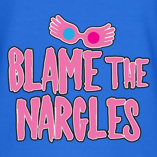 Blame The Nargles t-shirts