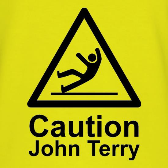 Caution John Terry t-shirts