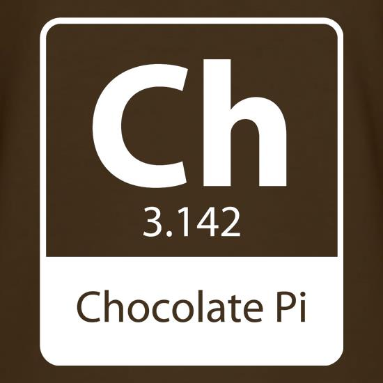 Chocolate Pi t-shirts