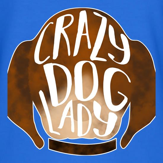 Crazy Dog Lady t-shirts