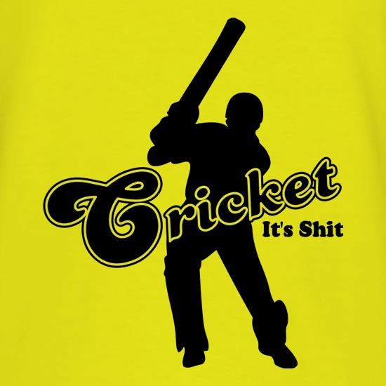 Cricket It's Shit t-shirts
