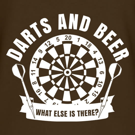 Darts & Beer t-shirts