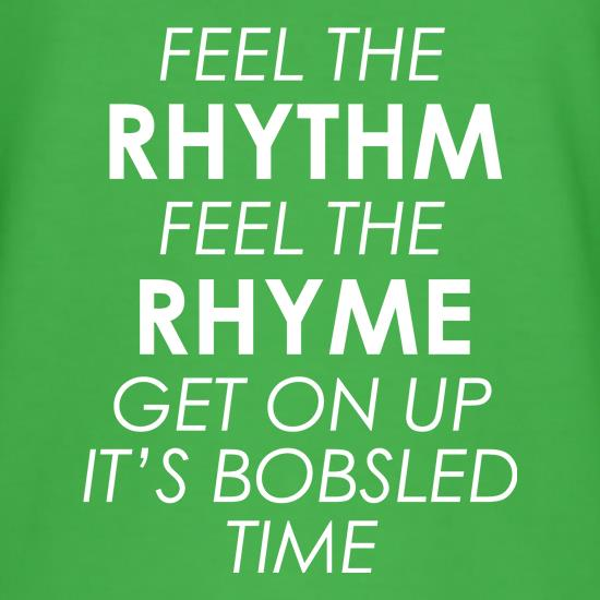 Feel The Rhythm, Feel The Rhyme t-shirts