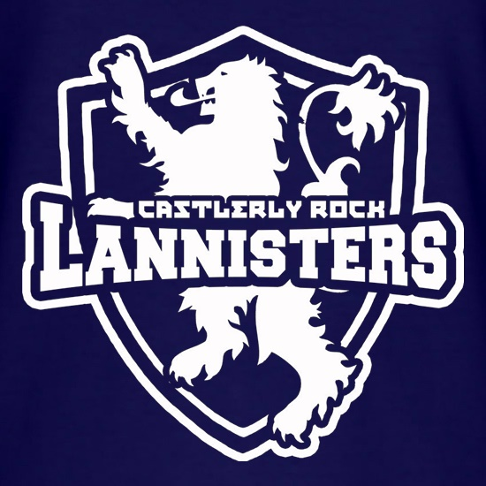 Game Of Thrones - Team Lannister t-shirts