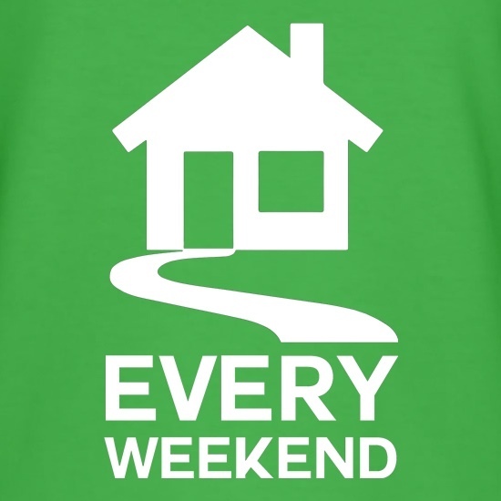 House Every Weekend t-shirts
