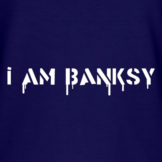 I Am Banksy t-shirts