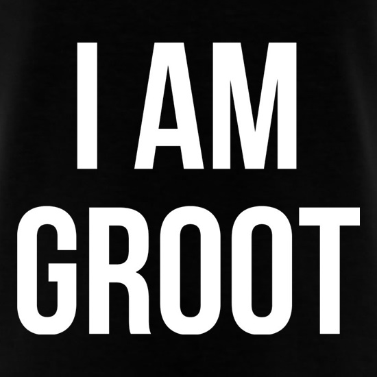 I Am Groot t-shirts