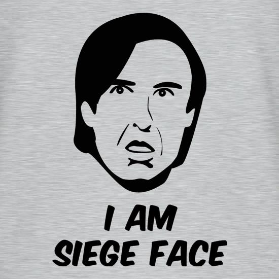 I Am Siege Face t-shirts