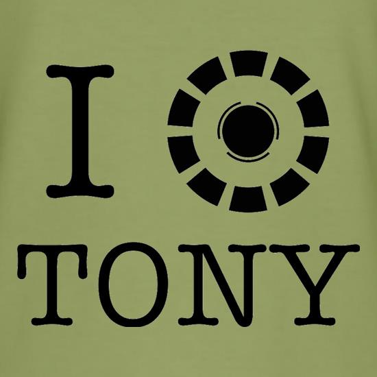 I Heart Tony Stark t-shirts