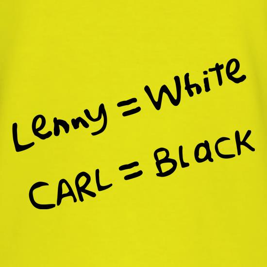 Lenny White - Carl Black. Homer Hand t-shirts