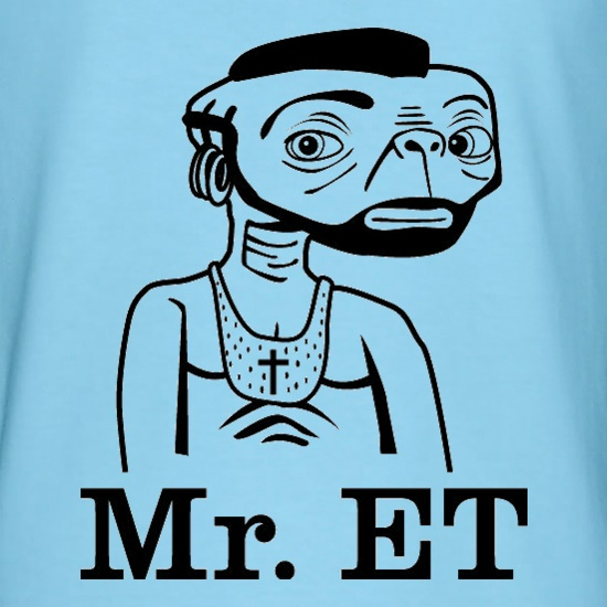 Mr ET t-shirts