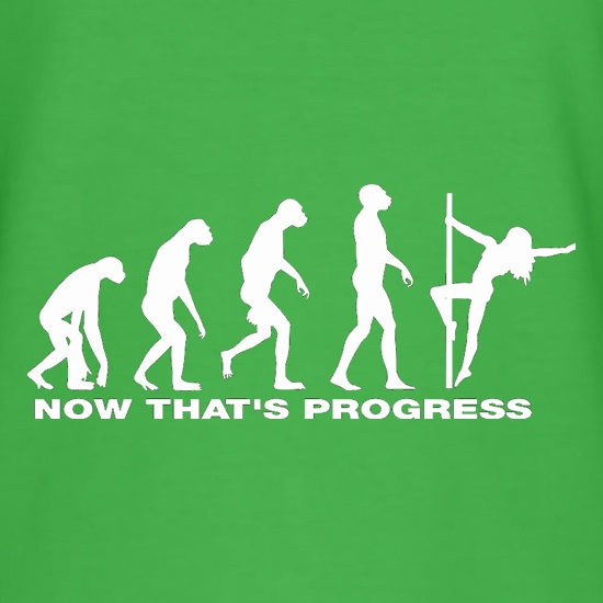 Now That's Progress t-shirts