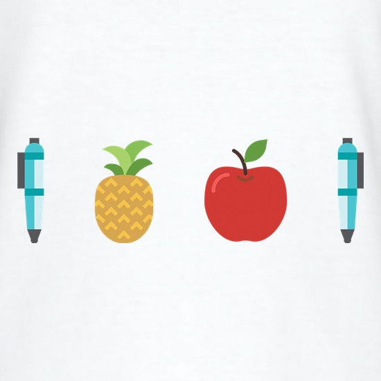 Pen Pineapple Apple Pen t-shirts