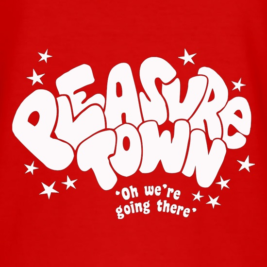 Pleasure Town t-shirts