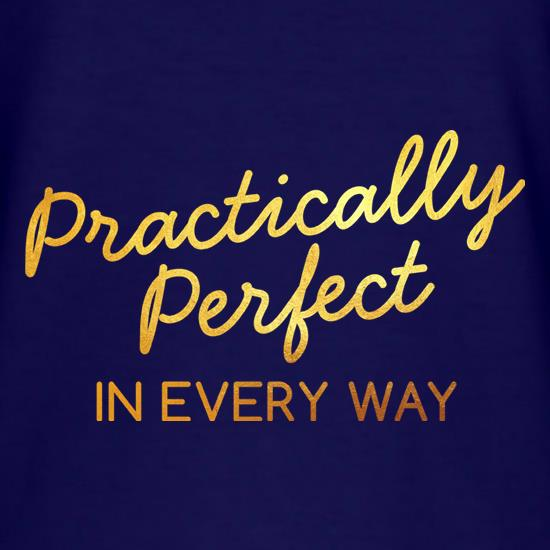 Practically Perfect In Every Way t-shirts
