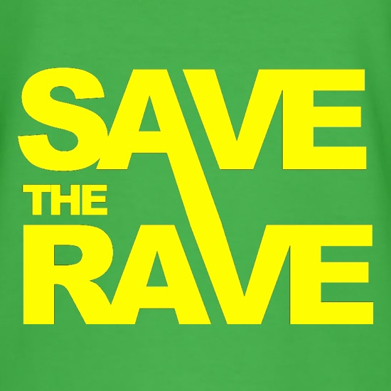 Save The Rave t-shirts
