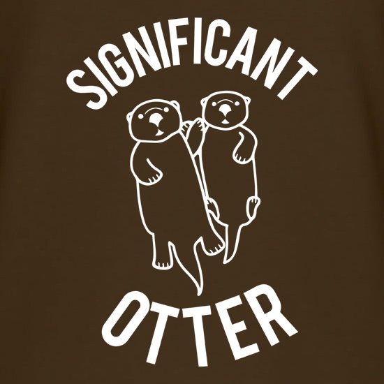Significant Otter t-shirts