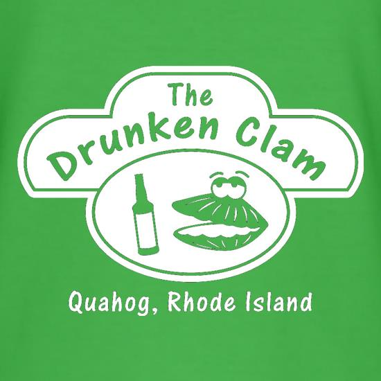 The Drunken Clam t-shirts