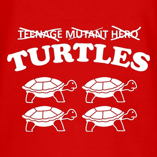 Turtles t-shirts
