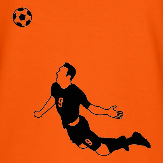 Van Persie Diving Header t-shirts