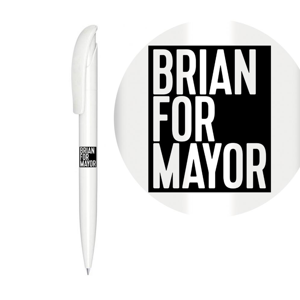 Brian For Mayor Pen