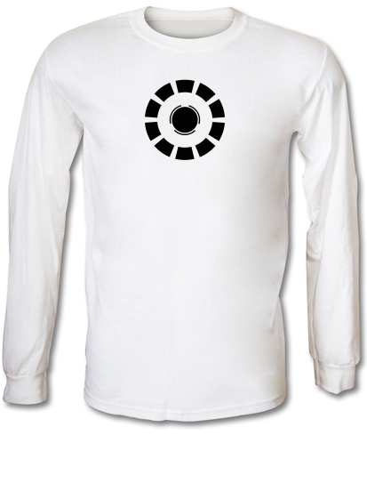 30a9b2151 Arc Reactor Iron Man Long Sleeve T Shirt By CharGrilled