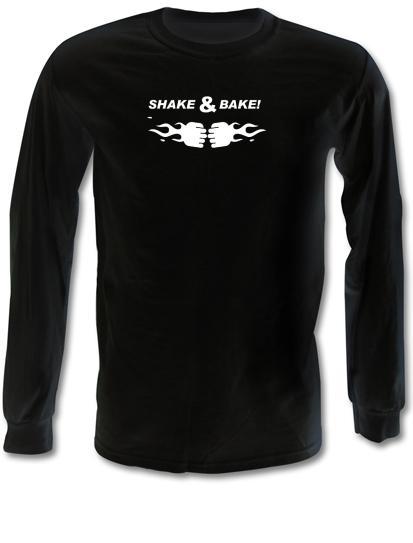 3bb3e7b7 Shake & Bake Long Sleeve T Shirt By CharGrilled