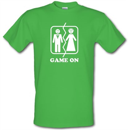 Game on t shirt by chargrilled for Game t shirts uk