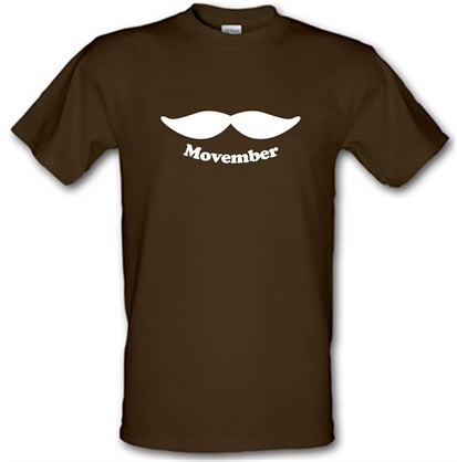 f6fdfd701 Movember T Shirt By CharGrilled