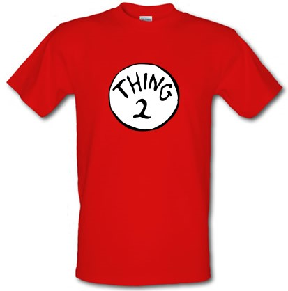 8cf0762a9 Thing 2 T Shirt By CharGrilled