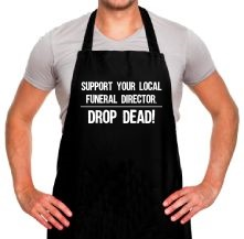 Support Your Local Funeral Director t shirt