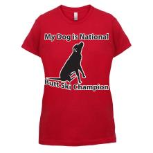 My Dog is Butt Ski Champ t shirt