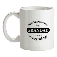 Dad Knows A Lot But Grandad Knows Everything t shirt