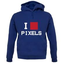 I Love Pixels t shirt