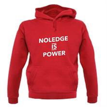 Noledge Is Power t shirt