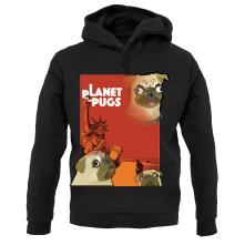 Planet of the Pugs t shirt