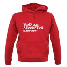 Sex Drugs & Rock n Roll t shirt