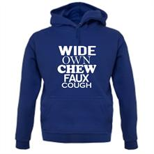 Wide Own Chew Faux Cough t shirt