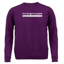 Condomize t shirt