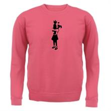 Banksy Girl With Bomb t shirt