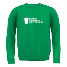 I Drink To Forget That I Drink t shirt