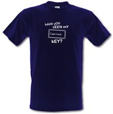 hAVE yOU sEEN mY cAPS lOCK kEY? t shirt