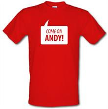 Come On Andy Murray t shirt