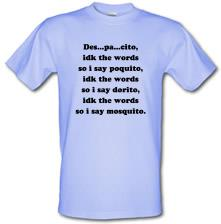 Despacito Song Lyrics t shirt