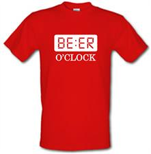 Beer O'Clock t shirt