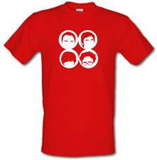 Big Bang Theory Silhouettes t shirt