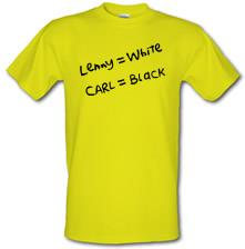 Lenny White - Carl Black. Homer Hand t shirt