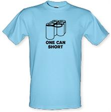 One Can Short t shirt